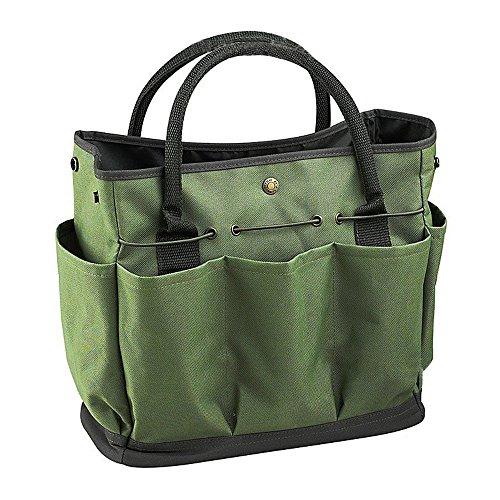ishowstore Garten-Tasche für Tools 600D Oxford Stoff 34,3x 17,2x 30,5cm Garden Tools Organizer