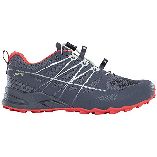 The North Face W Ultra Mt Ii Gtx -Spring 2018-(T932ZB4HZ) - Blk Perl/jc Red - 6W