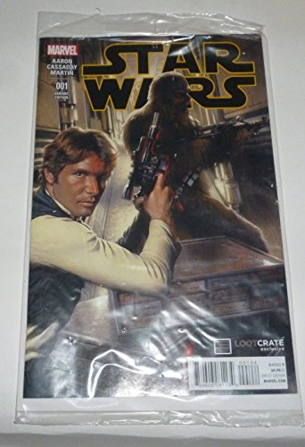 Star Wars #1 Loot Crate January 2015 Exclusive Gabriele Dell?Otto Cover Variant