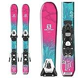 Salomon QST Lux Jr. Kinder Ski mit C5SR EZYTRAK Bindung