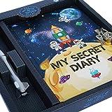 Monet Studios Secret Diary Journal Notebook with Pen