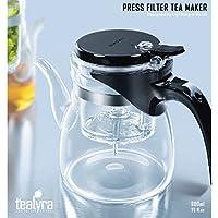 Tealyra®–alta qualità Loose Leaf Press filtro infusore Caffè–Teiera in vetro