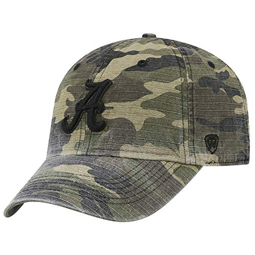 Top of the World NCAA Verstellbar Helden Woodland Camo Hat Cap, Multi, Einstellbar Alabama Crimson Tide Camo