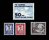 Briefmarken DDR Jahrgang 1949, Mi. Nr. 242 - 245, komplett Postfrisch (Mi. 36,00 EUR)