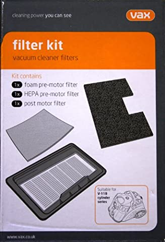 Vax Genuine V-118 Force 2 Series Filter Kit