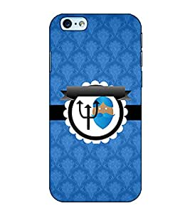 Fuson Designer Back Case Cover for Apple iPhone 6 Plus :: Apple iPhone 6+ (Blue designer pattern theme)