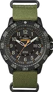 Timex TW4B03600 Orologio da Polso, Quadrante Analogico da Uomo, Cinturino in Nylon, Colore Verde