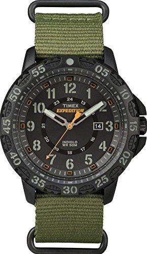 7fe7b5536c01 Timex Reloj Analógico para Hombre de Cuarzo con Correa en Nailon TW4B03600