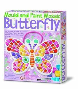 4M - Mould & Paint Mosaic Butterfly (004M4615)