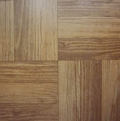 50 VINYL FLOOR TILES: Dark Wood SELF-STICK - cheap UK light shop.