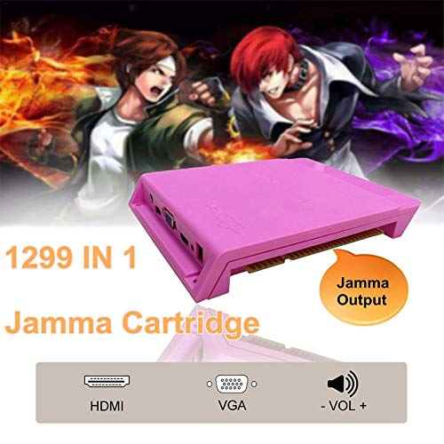 Navigatee Jamma Board - Arcade Mutli Game PCB VGA/HDMI Ständer Spielbrett für Pandpra's Box 5S 1299 In 1 -
