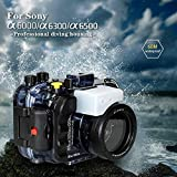 Sea frogs pour Sony a6500 a6400 a6300 a6000 Plongée sous-marine avec caméra 195M /...