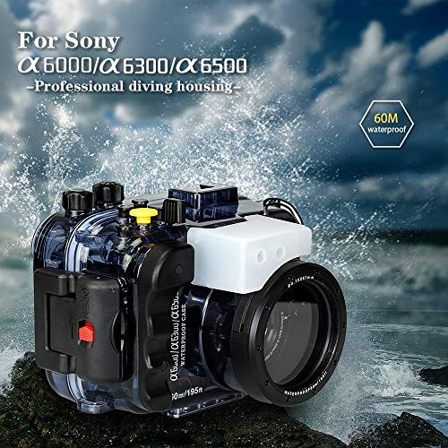 Sea Frogs Compatible with Sony a6500 Underwater Camera housing