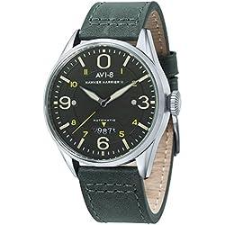 Verde oscuro/Verde/Plata Hawker Harrier II Relojes de AVI-8