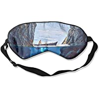 Comfortable Sleep Eyes Masks Strait Canyon Boat Diving Printed Sleeping Mask For Travelling, Night Noon Nap, Mediation... preisvergleich bei billige-tabletten.eu