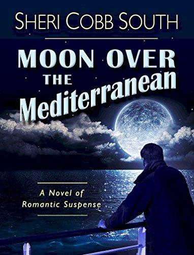Moon over the Mediterranean