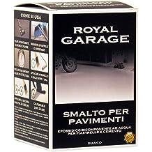 Brava RGB7 Royal Garage Smalto per Pavimenti Epossidico All'Acqua, Bianco, 750 ml