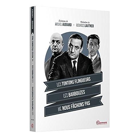 Coffret Michel Audiard / Georges Lautner : Les Tontons flingueurs + Les Barbouzes + Ne nous fâchons pas