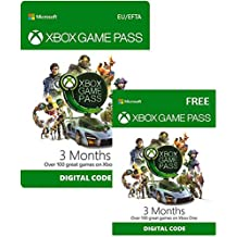 Xbox Game Pass | 3 Month + 3 Month FREE | Xbox Live Download Code