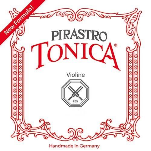 PIRASTRO 412023 TONICA VIOLIN JUEGO (E LAZO  ALUMINIO) MEDIO