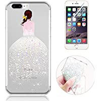 Sunroyal® Custodia iPhone 7 plus Silicone, Case Cover per iPhone