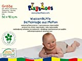 Playshoes 770213 Molton Betteinlage Kinderbett wasserdicht und atmungsaktiv