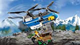 LEGO 60173 City Police Mountain Arrest Building Set, Buggy and Helicopter Toy, Police Toys for Kids