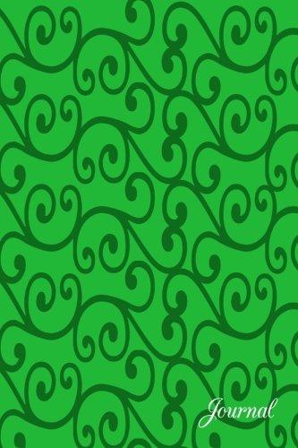 Journal: Green swirls notebook