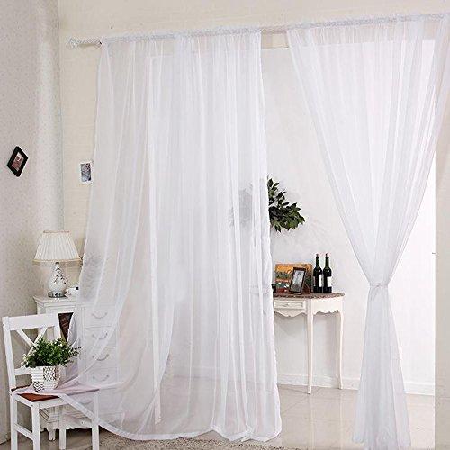 Kitchen Net Curtains: Voile Net Curtains: Amazon.co.uk