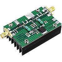 CUHAWUDBA 1MHz-1000MHZ 35DB 3W HF VHF UHF Transmisor FM Amplificador de Potencia de RF de Banda Ancha para Ham