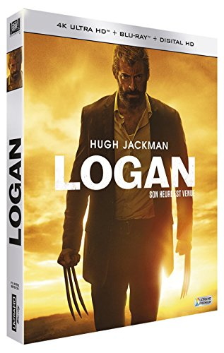 Logan – Blu-ray 4K (version cinéma + version noir & blanc) + Blu-ray (version cinéma) + DHD [2 Blu-ray 4K Ultra HD + Blu-ray + Digital HD]