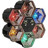 LED Lichtorgel Lichteffekt Lichtanlage 5 Farben Partybeleuchung Farbwechsler Lauflicht Musiksteuerung Party