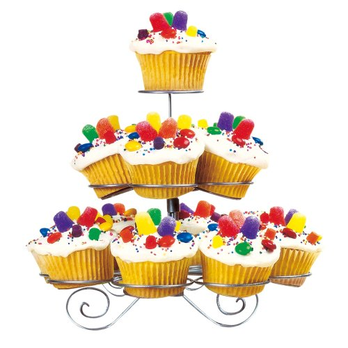 FineLife 3 Tier Cupcake Stand - Holds 13 Cupcakes by O'NeillGifts - Tabletop-wein Kühler