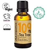 Naissance Tea Tree Essential Oil (#109) 30ml - Pure, Natural, Cruelty Free, Vegan & Undiluted
