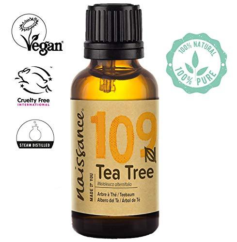 Naissance Aceite Esencial de Árbol de Té n. º 109 – 30ml - 100% Puro, vegano y no OGM
