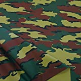 TOLKO Belgien Woodland Camouflage-Stoff Meterware -