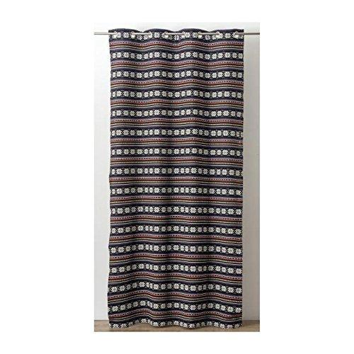 rideau-jacquard-a-rayures-horizontales-ethnique-130x260-cm-noir