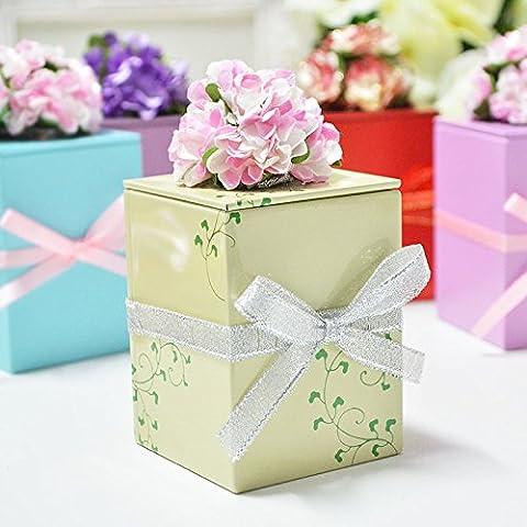 XHDWNBM 20 Pcs Matrimonio matrimonio cartuccia di zucchero continentale Hee-Sugar