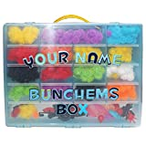 Personalized Shopkins Compatible Organizer, Personalized With Your Name. Includes Blue Storage + 2 Alphabet Puffy Stickers To Make It Your Own! Talented Kidz Exclusive. Fits Shopkins Season 4