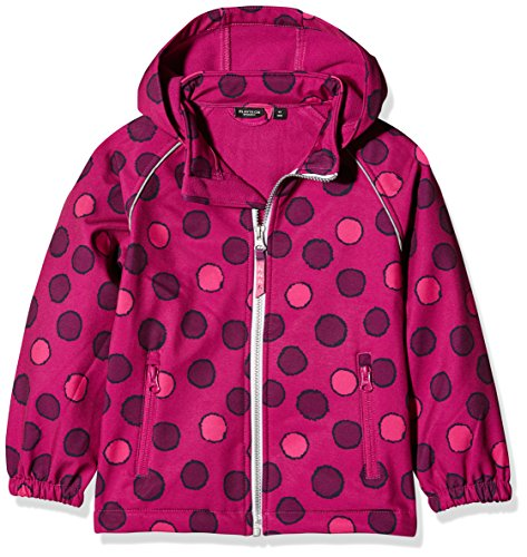 NAME IT Baby-Mädchen Jacke NITALFA Softshell Jacket Fuchs DOT MZ FO, Mehrfarbig (Fuchsia Purple), 98