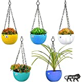 Plastic Pot, Multicolour, 7 x 7 x 4.6