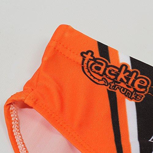 Optimum Herren Tackle Trunk Underwear Orange - Orange/Schwarz