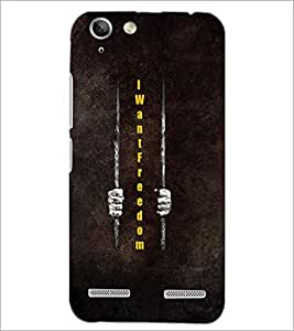 PrintDhaba Quote D-3325 Back Case Cover for LENOVO A6020a46 (Multi-Coloured)