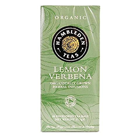 Hambleden Teas   Lemon Verbena - Og   6 x 20 Bags