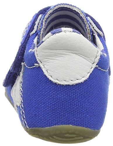 Living Kitzbühel Baby Velcro Uni, Chaussures Bébé Garçon Bleu - Blue (Blue Coral 563)