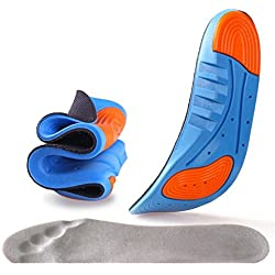 Shopping Tadka Sports Insole Silicone Gel Insoles Sports Running Insoles Massaging Shoe Inserts Pad Shock Absorption for Men Women