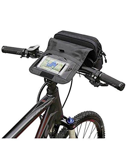 Rixen und Kaul KLICKfix Smartbag Touch - Lenkertasche Schwarz