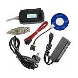 Adapter KABEL USB 2.0 zu IDE & S-ATA für 2,5' 3,5' 5,5' [Elektronik]