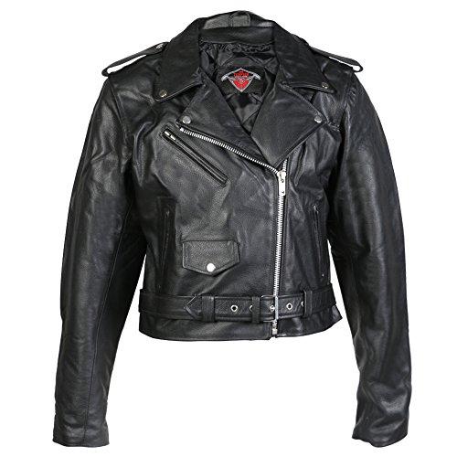 Giacca da donna per motociclismo - pelle di prima qualità