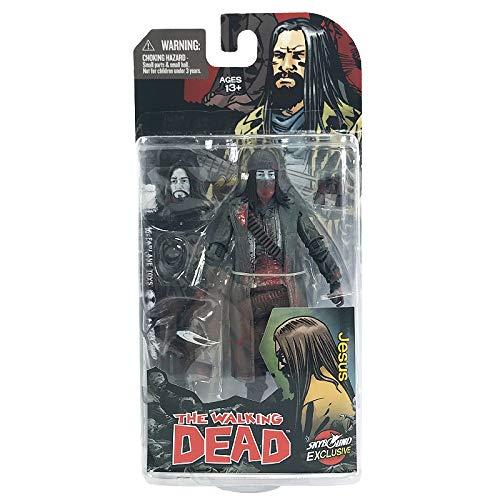 McFarlane Toys The Walking Dead Comic Book Jesus Action Figure [Bloody by Walking Dead